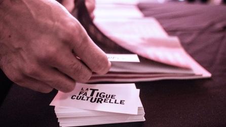 La Fatigue culturelle à Momenta Biennale de l'image